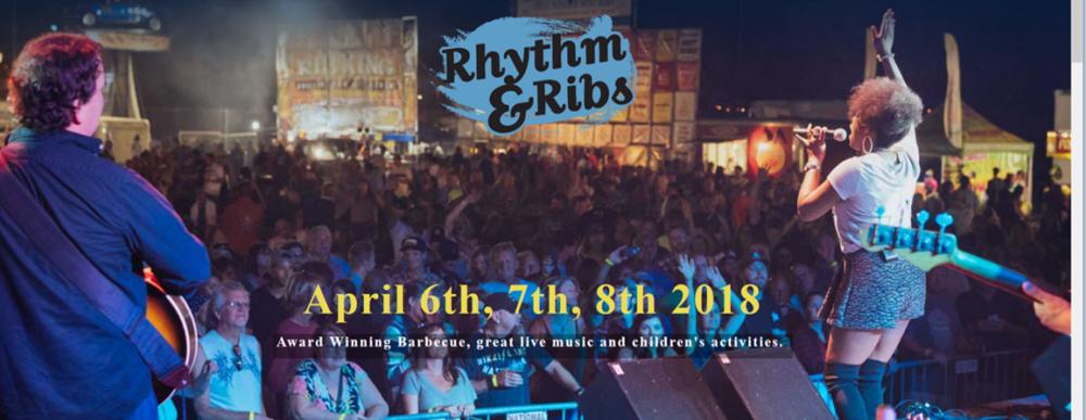 Rhythm and Ribs Festival in April