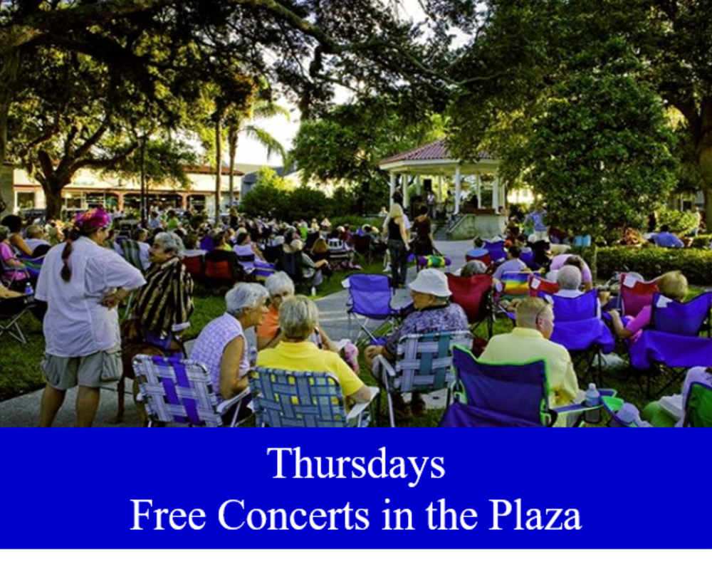Free Concerts in The Plaza