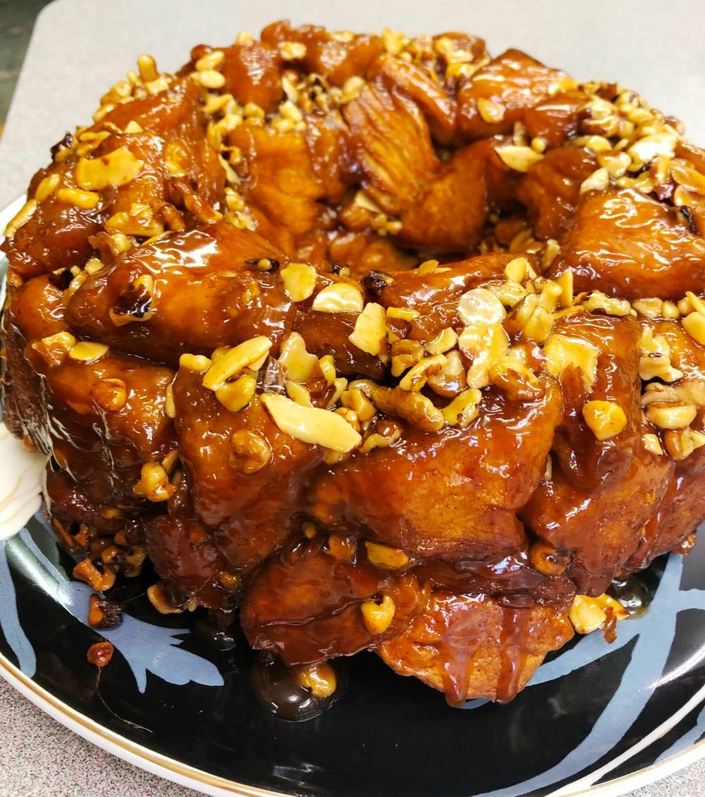 Recipe: Caramel Sticky Bun Breakfast Ring