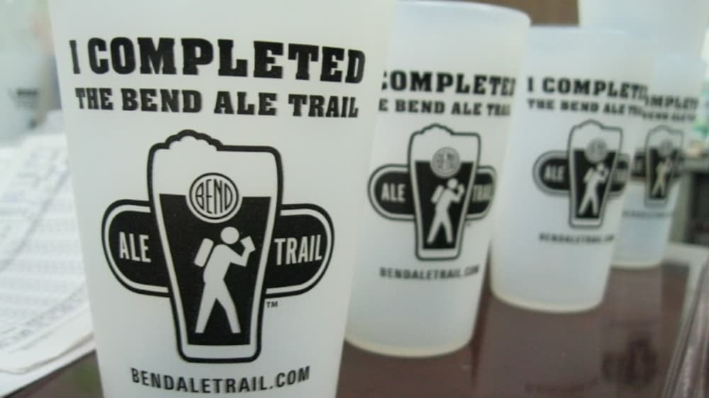 November is Bend Ale Trail Month - Finish and win a special trophy and FREE night of lodging!
