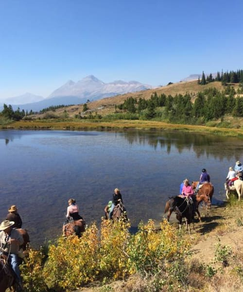 Bear Creek Guest Ranch: Montana Horseback Riding & Cabin Lodging