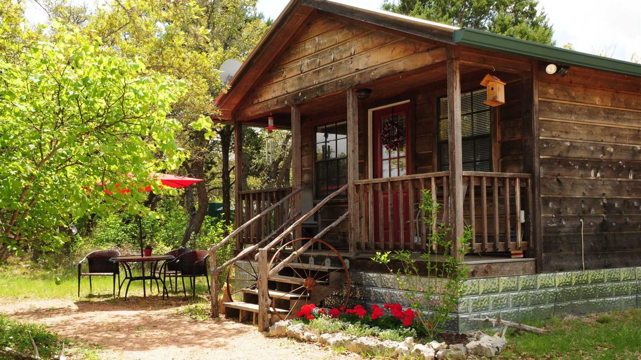 wimberley cottages home casual cabins gallery model park texas pin