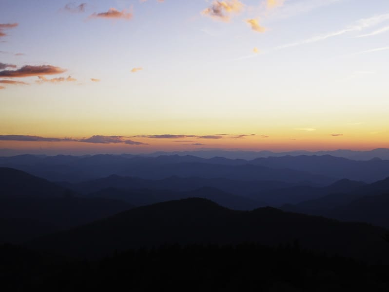 Highlights of the Blue Ridge Parkway near Asheville