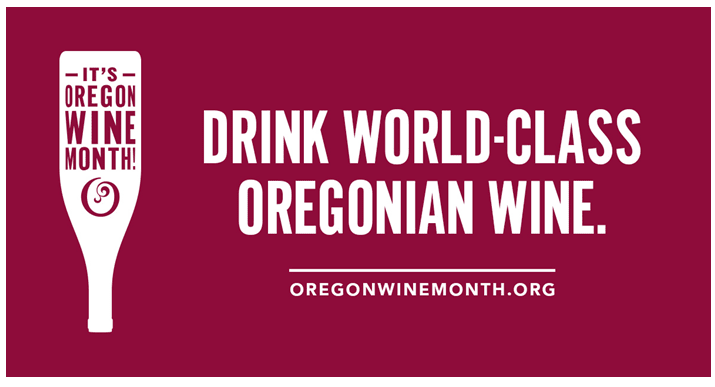 May is Oregon Wine Month
