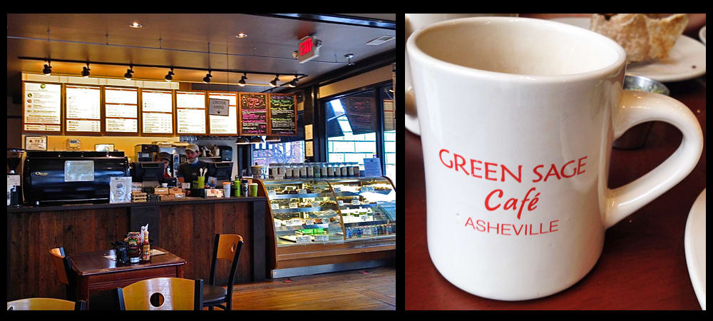 The Green Sage – Downtown Asheville CoffeeHouse