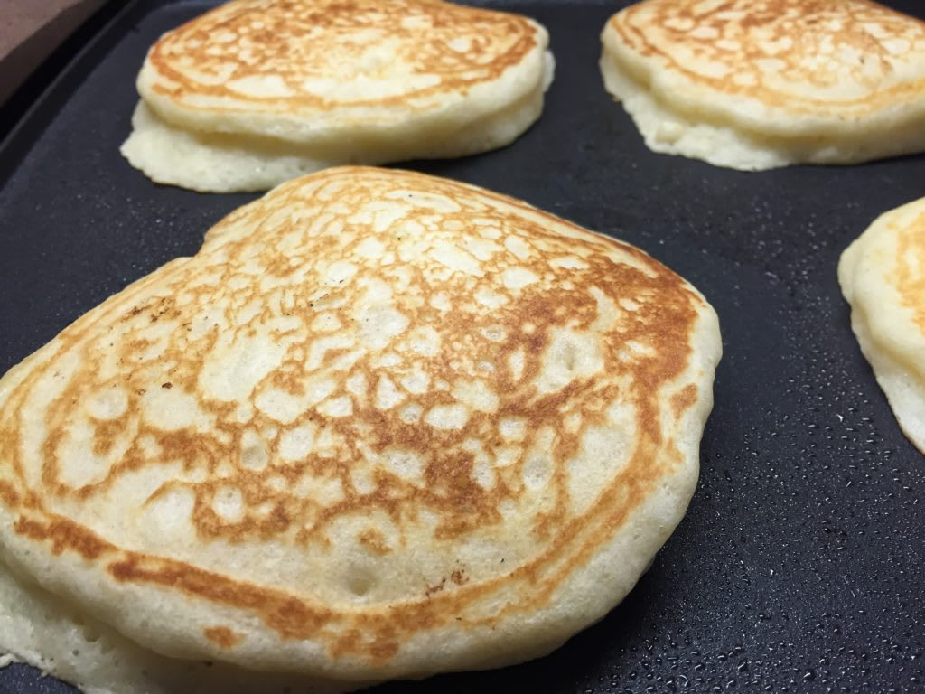 Hearty Whole Grain Pancakes This Weekend