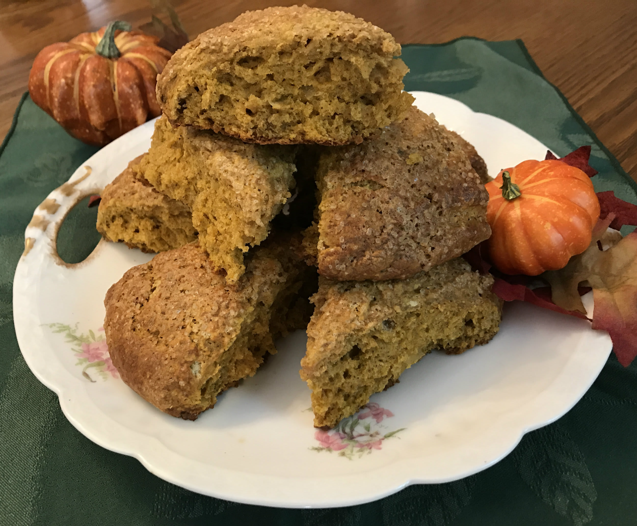 Ann Arbor- Ypsilanti area Parish House Inn  Fall recipes: Pumpkin Ginger scones