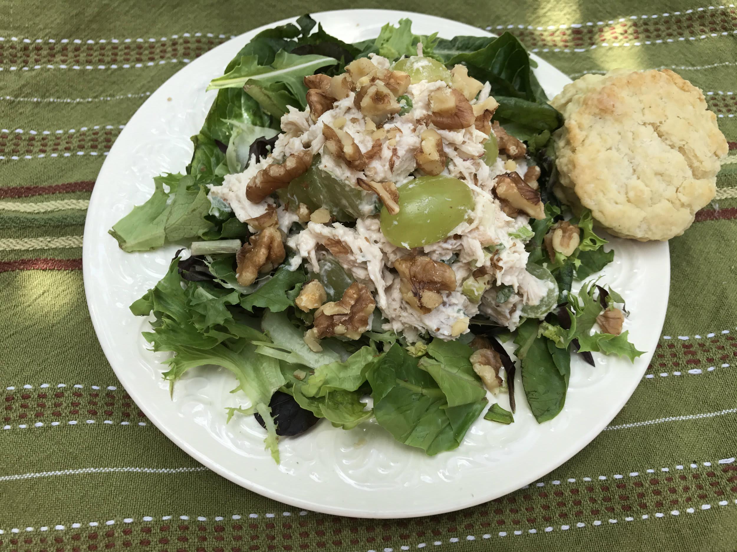 Fall Chicken Salad Recipe from Ypsilanti's Parish House inn