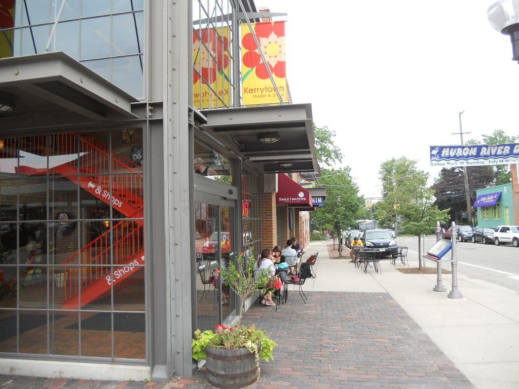 Explore Ann Arbor's kerrytown area