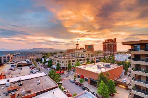 Walking Guide to Asheville's Downtown Landmarks
