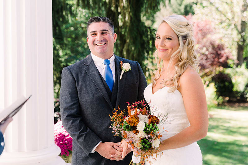 Albemarle Inn Elopement: Sarah & Anthony
