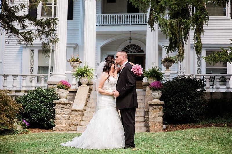 Jen & Matt's Albemarle Inn Wedding
