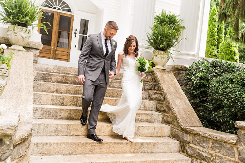 Hali and Dylan's Albemarle Inn Elopement