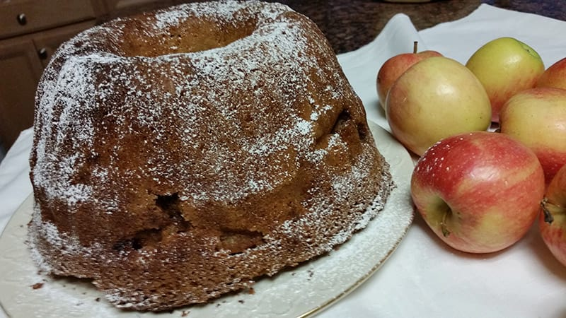 Apple Coffee Cake Recipe from Rosemary