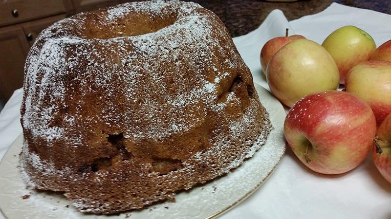 Apple Coffee Cake Recipe from Rosemary
