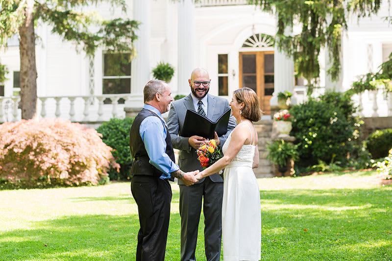 Albemarle Inn Elopement: Sondra and George