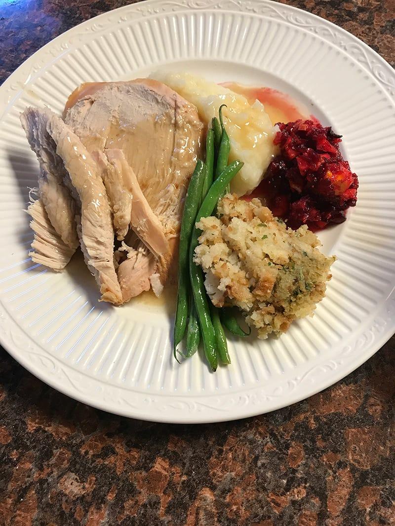 Holiday Dinnertime