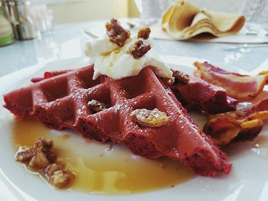 Rev Velvet Waffles