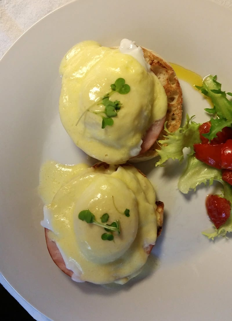 Eggs Benedict for Breakfast!