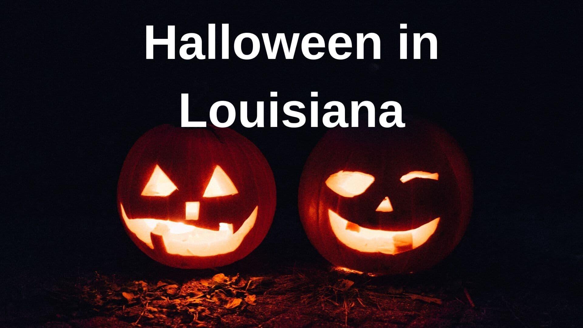 Halloween in Louisiana