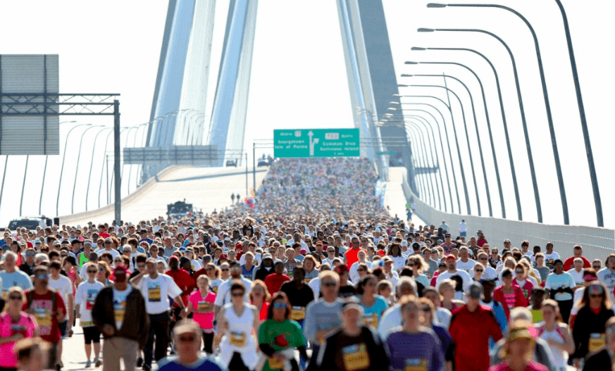 42 Annual Cooper River Bridge Run on Saturday, April 6, 2019