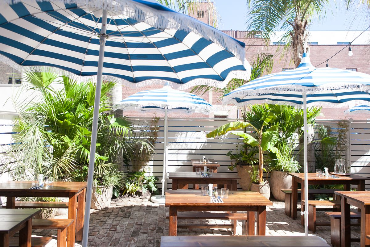 Best Outdoor Dining in Charleston!