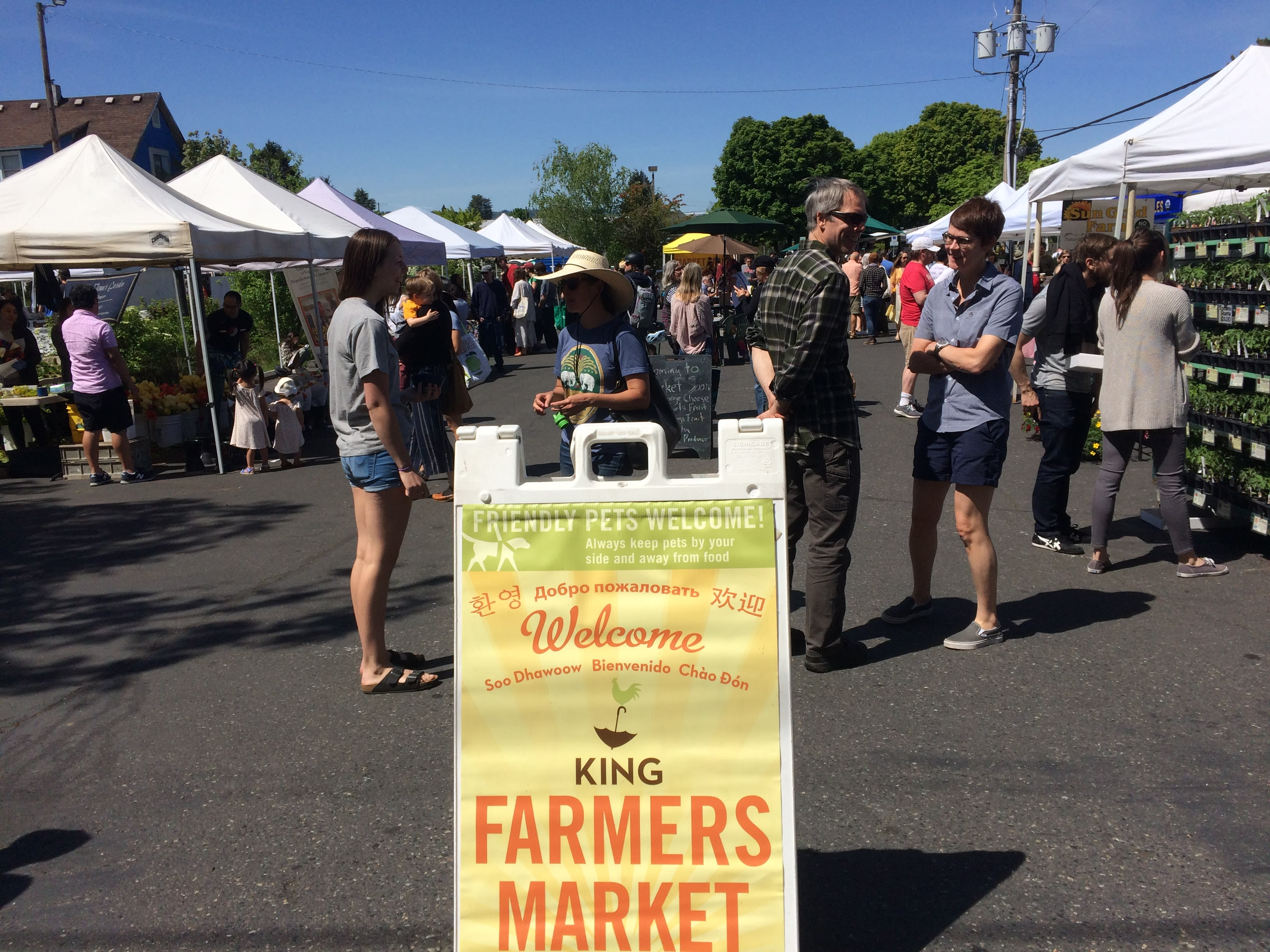 King Farmers Market