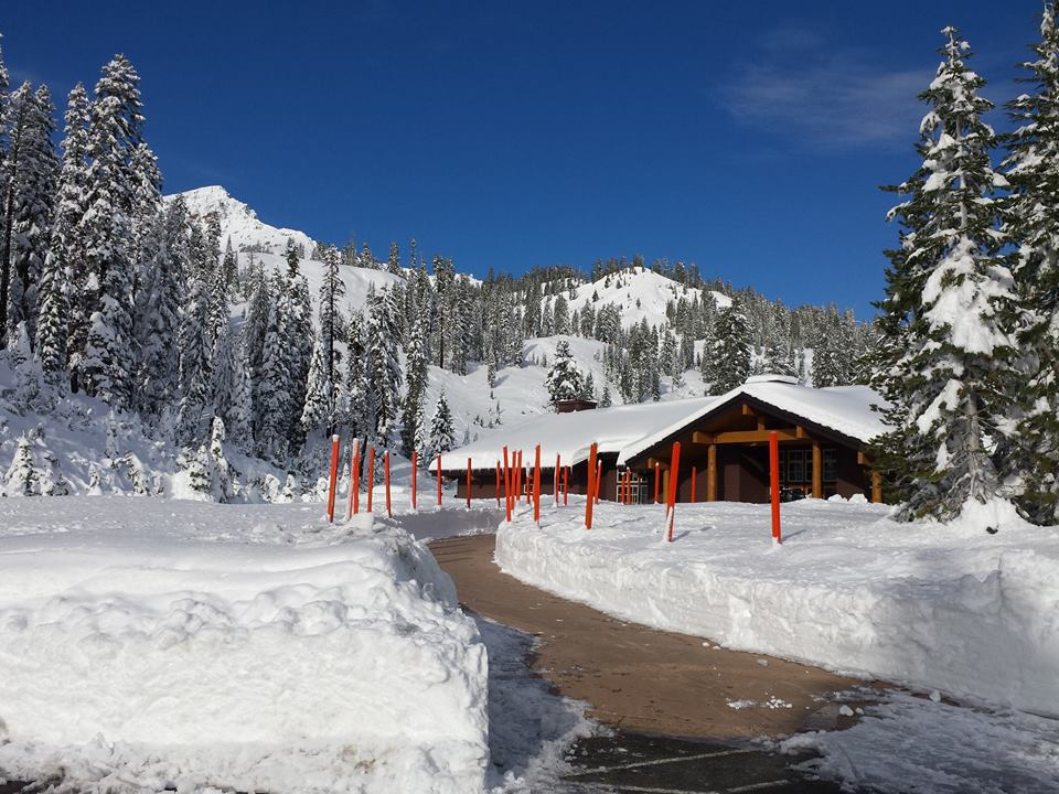 Winter sports in lassen volcanic national park st for Lassen volcanic national park cabins